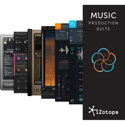 iZotope Music Production Suite - Plug-Ins Suite (Full Version, Download)