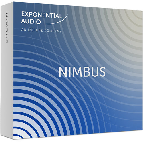 iZotope Exponential Audio NIMBUS - Stereo Algorithmic Reverb for Music & Post Production (Download)