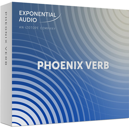 iZotope Exponential Audio PheonixVerb - Stereo Algorithmic Reverb for Music (Download)