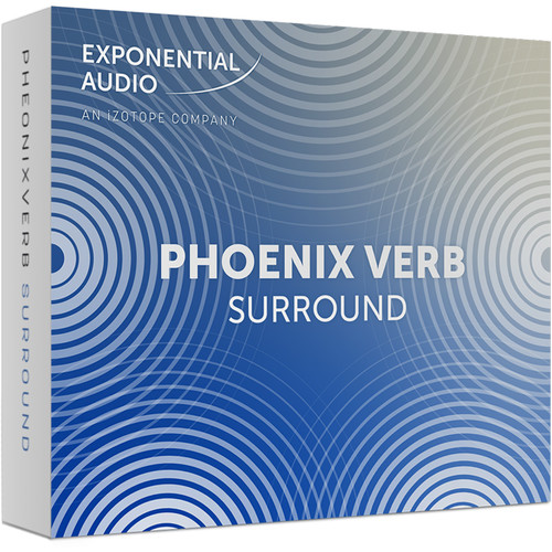 iZotope Exponential Audio PheonixVerb Surround - Algorithmic Reverb for Pro Audio Applications (Download)