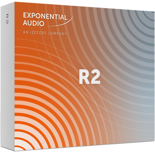iZotope Exponential Audio R2 - Stereo Algorithmic Reverb for Pro Audio Applications (Download)