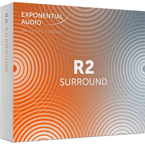 iZotope Exponential Audio R2 Surround - Stereo Algorithmic Reverb for Pro Audio Applications (Download)