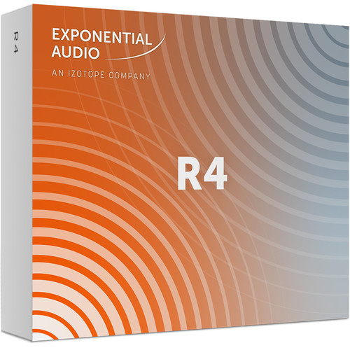 iZotope Exponential Audio R4 - Stereo Algorithmic Reverb for Pro Audio Applications (Download)
