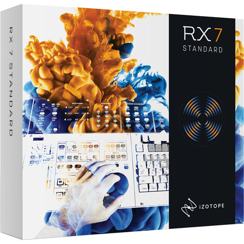 iZotope RX 7 Standard Audio Restoration and Enhancement Software (Download)