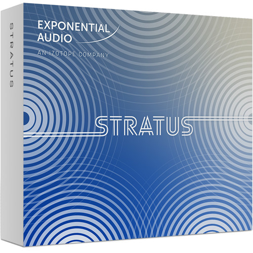 iZotope Exponential Audio Stratus - Algorithmic Reverb for Stereo or Surround Applications (Download)