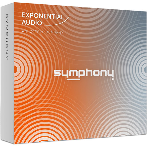 iZotope Exponential Audio Symphony - Algorithmic Reverb for Stereo or Surround Applications (Download)