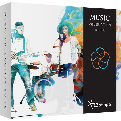 iZotope Music Production Suite - Plug-Ins Suite (Upgrade from an Standard Product, Download)