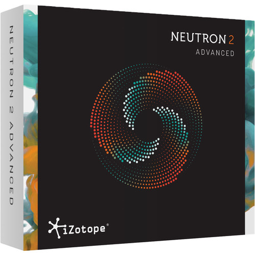 iZotope Neutron 2 Advanced - Mixing Software with Track Assistant (Crossgrade from Any iZotope Product, Download)