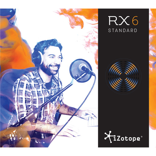 iZotope RX 6 Standard Audio Restoration and Enhancement Software (Crossgrade from Standard & Elements, Download)
