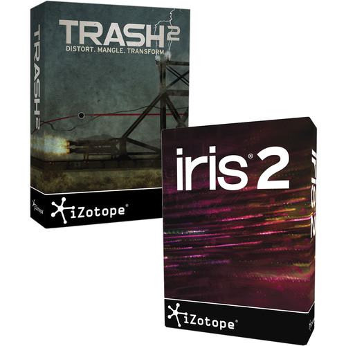 iZotope Trash 2 and Iris 2 Bundle - Distortion Software & Virtual Instrument (Download)