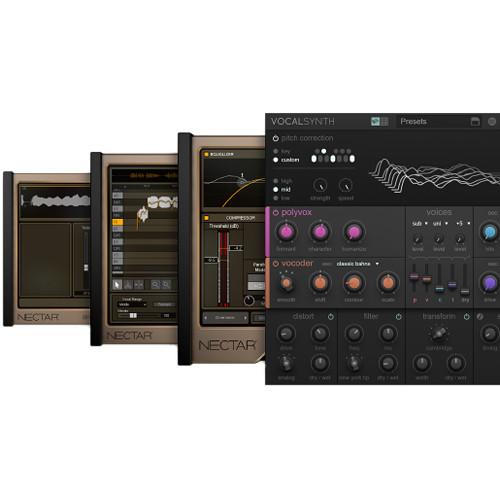 iZotope Vocal Bundle - Software Suite for Vocal Production (Download)