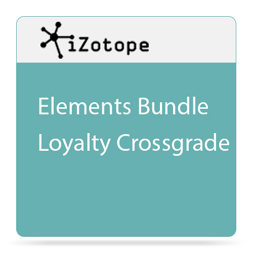 iZotope Elements Bundle Software for Repairing, Mixing & Mastering Audio (Crossgrade, Download)