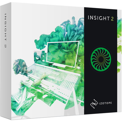 iZotope Insight 2 - Metering & Audio Analysis Plug-In for Music & Post Production (Upgrade from Insight, Download)
