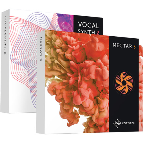 iZotope Vocal Bundle with Nectar 3 and VocalSynth 2 (Upgrade from Nectar or VocalSynth, Download)