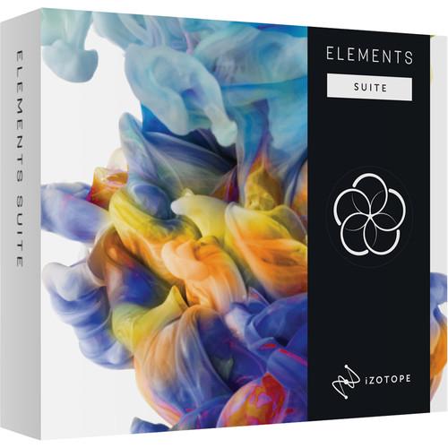 iZotope Elements Suite - Software Bundle Including Nectar, Neutron, Ozone & RX Elements (Academic Edition, Download)