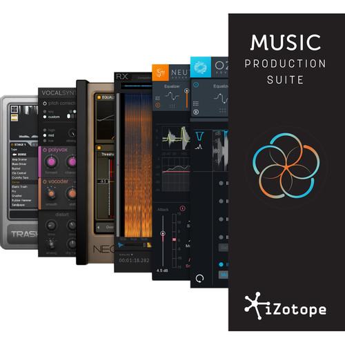 iZotope Music Production Suite - Plug-Ins Suite (Academic Edition, Download)