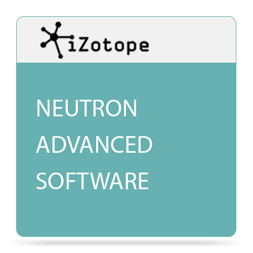 iZotope Neutron Advanced Mixing Software with Track Assistant - Plug-In Bundle (Academic, Download)