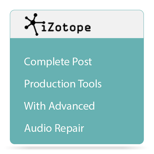 iZotope iZotope RX Post Production Suite 2 - Audio for Post Software Bundle (Academic Edition, Download)