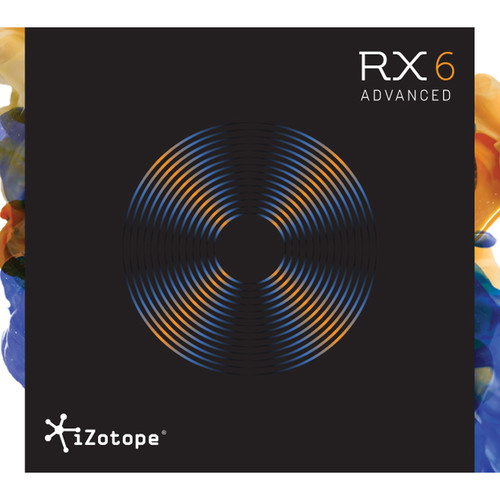 iZotope RX 6 Advanced - Audio Restoration and Enhancement Software (Educational, Download)