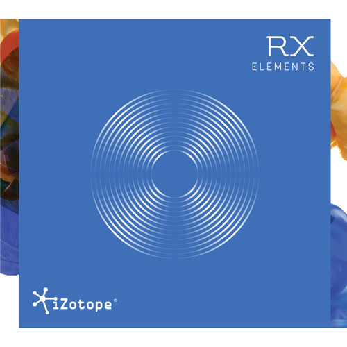 iZotope iZotope RX Elements Audio Restoration and Enhancement Software (Academic Edition, Download)