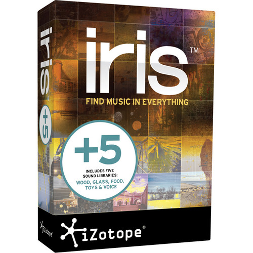 iZotope Iris with +5 Sound Library