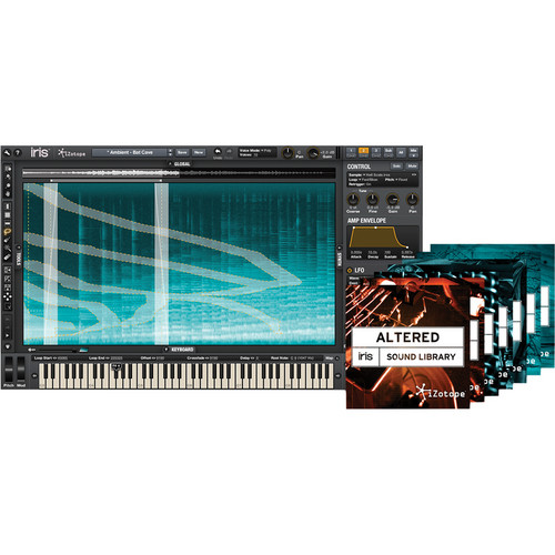 iZotope Iris+7 Bundle Pack with 7 Iris Sound Libraries