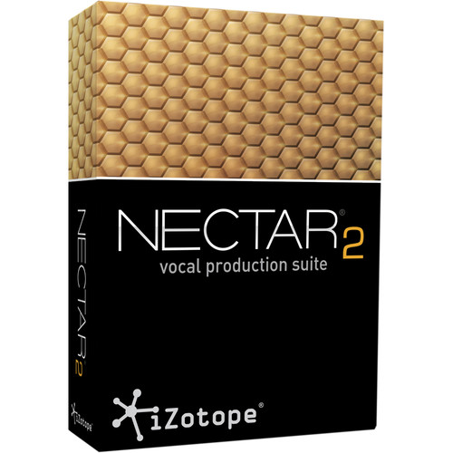 iZotope Nectar 2 Production Suite - Vocal Enhancement Software (Educational Download)