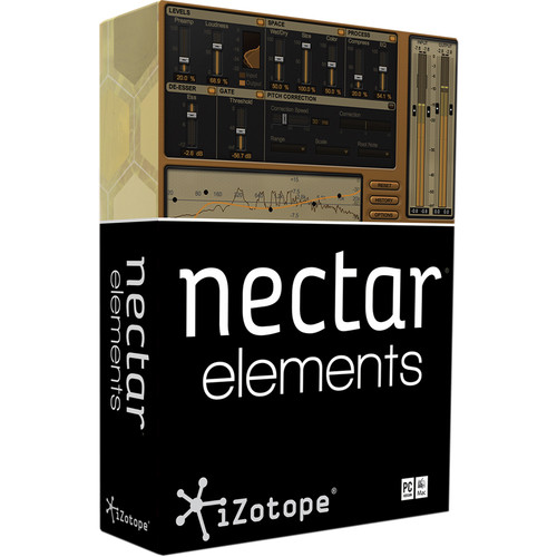 iZotope Nectar Elements - Vocal Processing Suite (Educational Download)