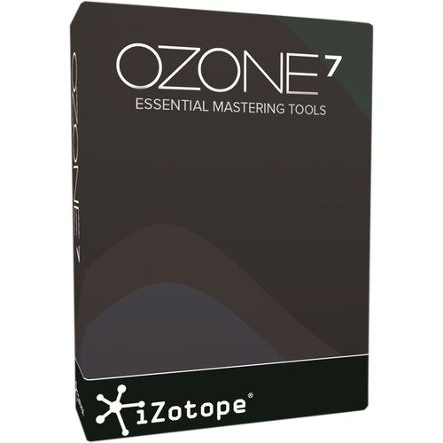 iZotope Ozone 7 - Mastering Software (Educational Download)