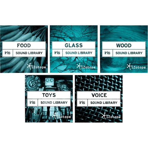 iZotope Plus 5: Iris Sound Libraries
