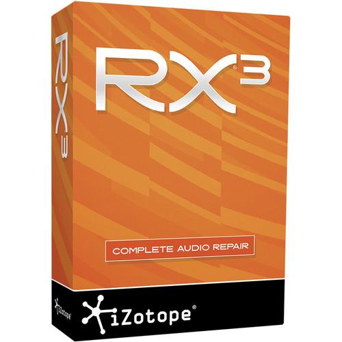 iZotope RX 3 Complete Audio Repair Software