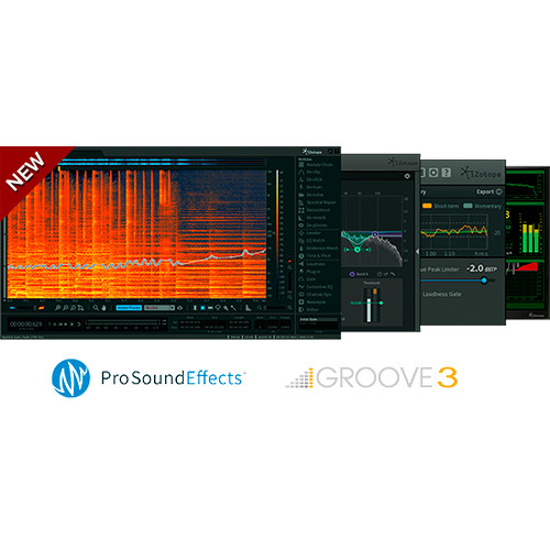 iZotope RX Post Production Suite - Audio for Post Software Bundle (Download)