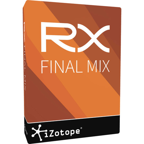 iZotope RX Final Mix - Post Production Processing Plug-In (Download)