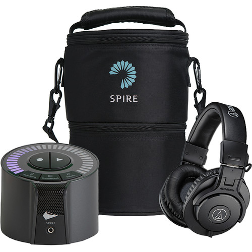 iZotope Spire Road Warrior Bundle with Carry Bag & Audio-Technica ATH-M30x