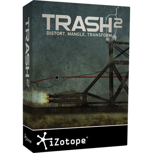 iZotope Trash 2 - Distortion Software (Download)