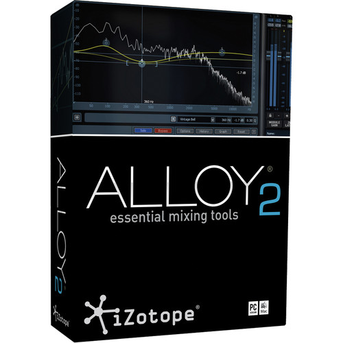 iZotope Alloy 2 Upgrade - Essential Mixing Tools (Download)