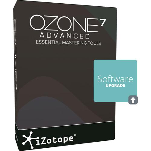 iZotope Ozone 7 Advanced Upgrade - Mastering Software (Download)