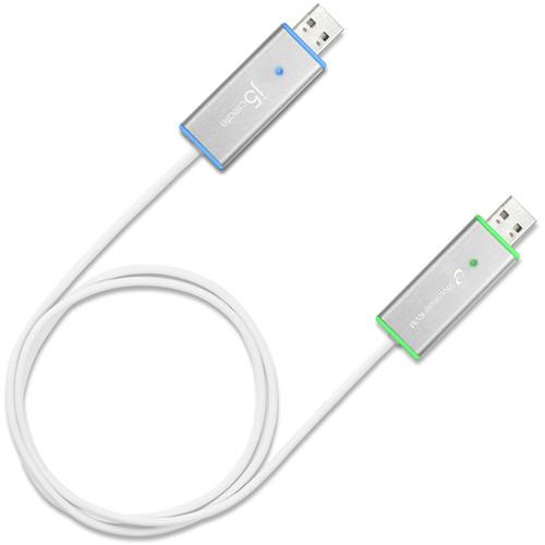j5create USB 3.1 Gen 1 Wormhole Switch DSS with KVM Swap & File Transfer