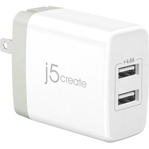 j5create 2-Port USB Type-A Super Charger