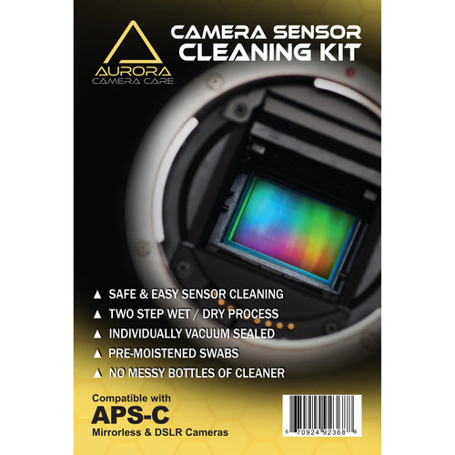 J.Cristina Photography Tools Aurora Camera Care Sensor Cleaning Kit (APS-C)