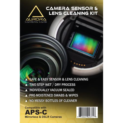 J.Cristina Photography Tools Aurora Camera Care Sensor and Lens Cleaning Kit Bundle (APS-C)