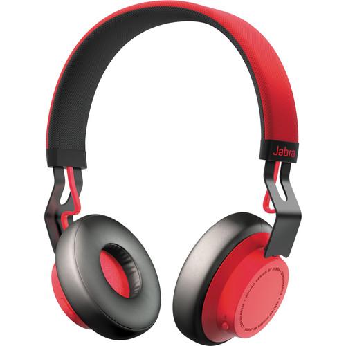 Jabra Move Wireless Bluetooth Headphones (Red)