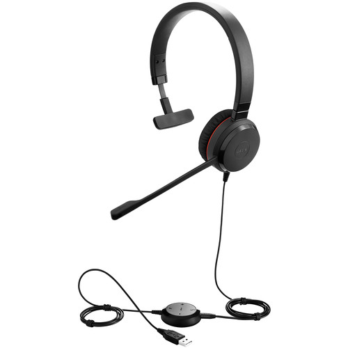 Jabra Evolve 30 II Mono Headset (Skype for Business Certified)