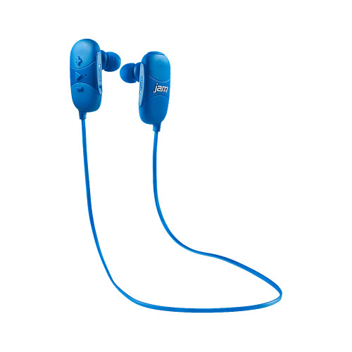 jam Transit Micro Sport Wireless Earbuds (Blue)