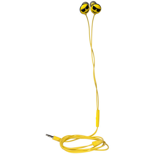jam HX-EPEM02 Jamoji In-Ear Headphones (Yellow, Too Cool)