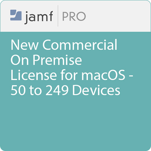 Jamf Commercial - New/  Jamf Pro On Premise  License for macOS - 50 to 249 Devices