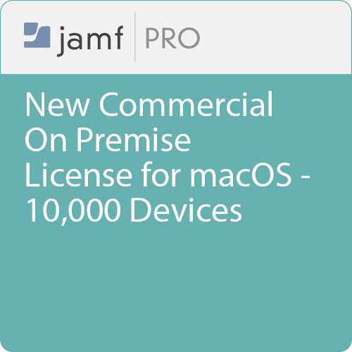 Jamf Commercial - New/  Jamf Pro On Premise  License for macOS - 10000 Devices