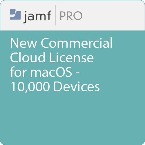 Jamf Commercial - New/  Jamf Pro Cloud  License for macOS - 10000 Devices