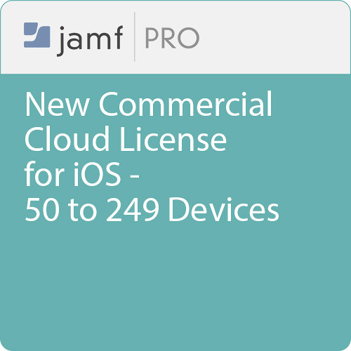 Jamf Commercial - New/  Jamf Pro Cloud  License for iOS - 50 to 249 Devices