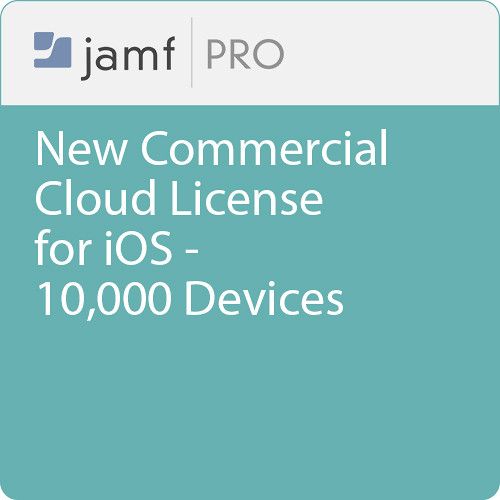 Jamf Commercial - New/  Jamf Pro Cloud  License for iOS - 10000 Devices